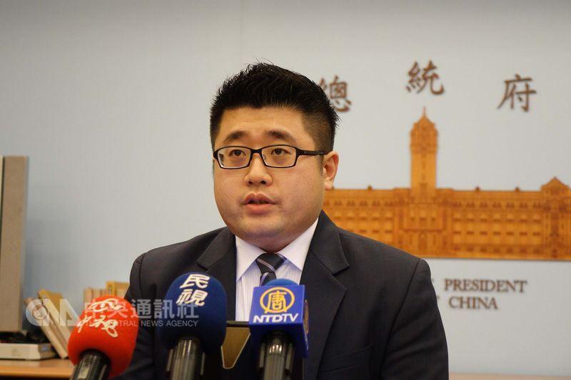 總統府發言人林鶴明29日再次呼籲,維持兩岸間的和平穩定、確保人民福祉,是兩岸雙方共同的責任與目標。(中央社檔案照片)