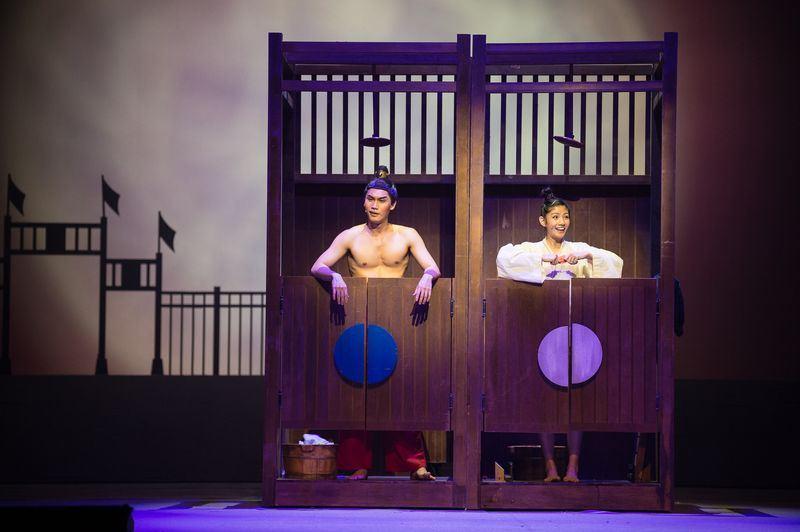 台灣原創音樂劇作品木蘭少女叫好叫座,卻仍面臨現實考量可能封箱演出。(瘋戲樂工作室提供)