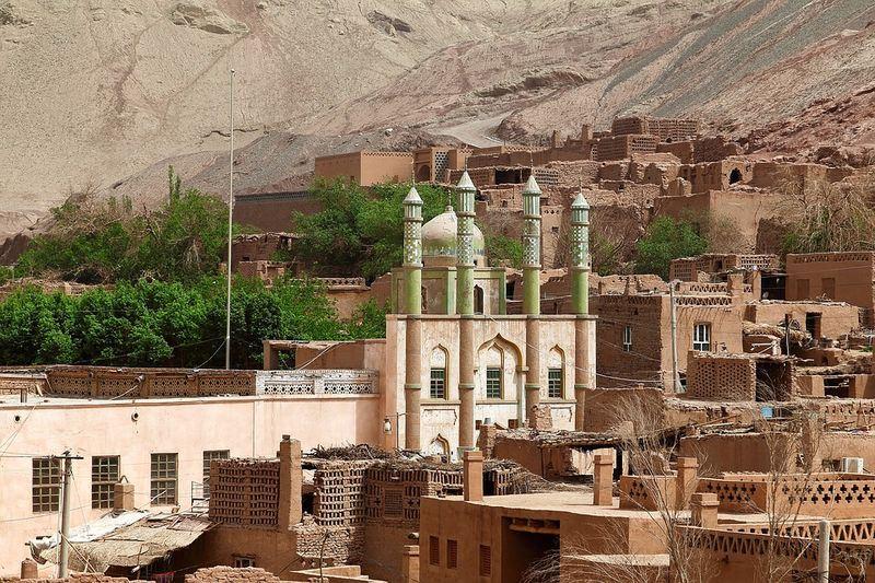 �合��「消除�N族歧�委�T��」8月10日披露有百�f�S吾��人遭拘禁收容�I。�D�槲混缎陆�的清真寺。(�D取Pixbay�D�欤�