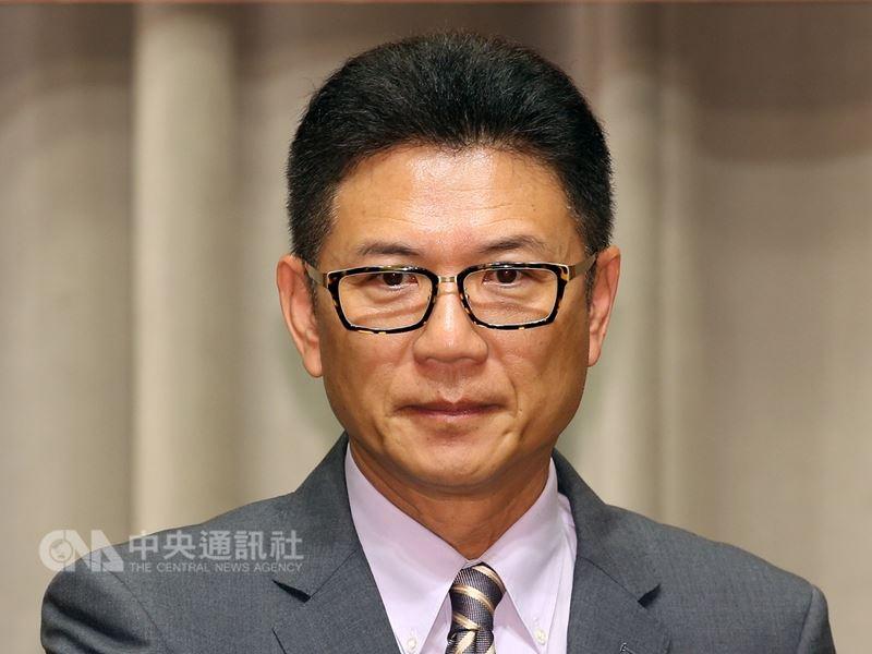 前行政院發言人孫立群11月將接掌中華奧會秘書長。(中央社檔案照片)
