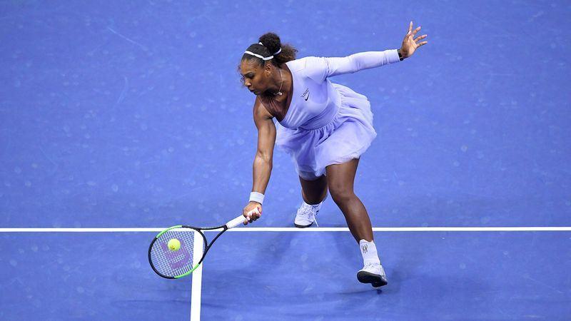 美國網球天后小威廉絲6日以6比3、6比0輕取對手,生涯第9度殺進美網公開賽女單決賽。(圖取自美網官網 www.usopen.org)