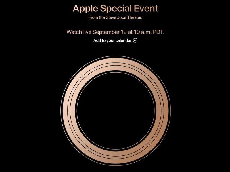 蘋果公司將在美西時間12日舉行發表會,媒體報導,此次蘋果預計推出3款新機。(圖取自蘋果公司網站 www.apple.com)