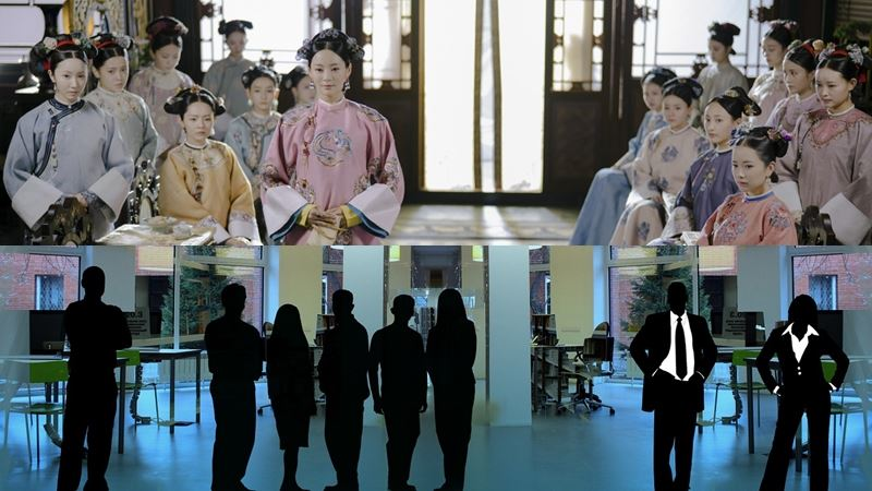 宮廷劇延禧攻略才剛下檔,但鬥爭戲碼現實生活依舊上演;1111人力銀行調查顯示,有6成7的上班族曾遭遇職場鬥爭。(上圖取自延禧攻略微博weibo.com,下圖取自Pixabay圖庫)