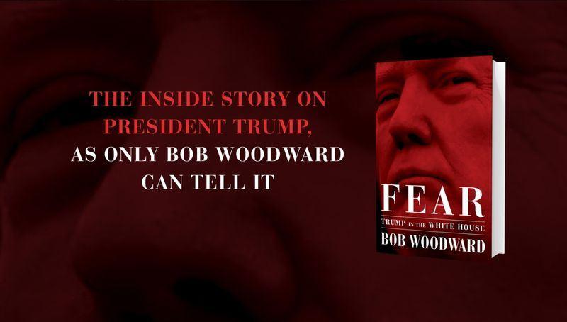 揭發水門案的「華盛頓郵報」記者伍德華的新書「恐懼:川普入主白宮」(Fear: Trump in the White House,暫譯)11日上市。(圖取自伍德華臉書 www.facebook.com/realBobWoodward)
