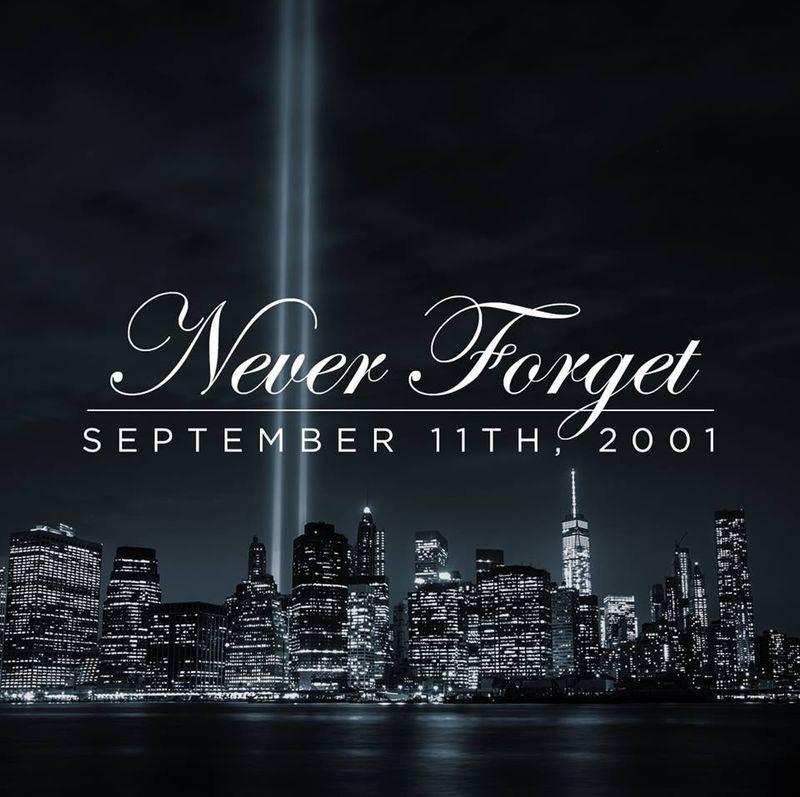 川普在紀念911恐怖攻擊事件17週年表示,舉國與當天失去摯愛親人的家庭成員同感悲傷。(圖取自川普臉書www.facebook.com)