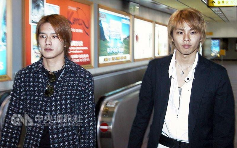 36歲的瀧澤秀明(左)和今井翼(右)發出聯合聲明表示,兩人商量的結果,「瀧與翼」於9月10日解散。(中央社檔案照片)