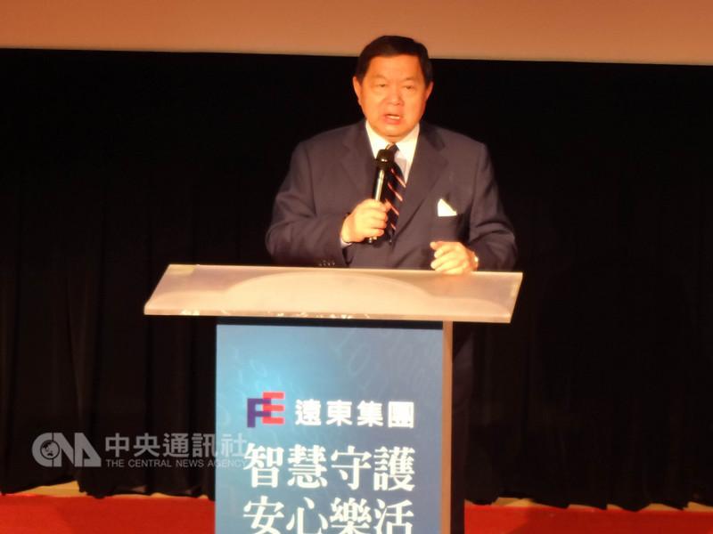 遠東集團董事長徐旭東14日表示,人口老化的浪潮襲捲全球,台灣失能失智人口也逐年增加,不僅照護資源需求激增,也曝露了照護人力短缺,所以智慧科技的協助是未來主流。中央社記者陳朝福攝 107年9月14日