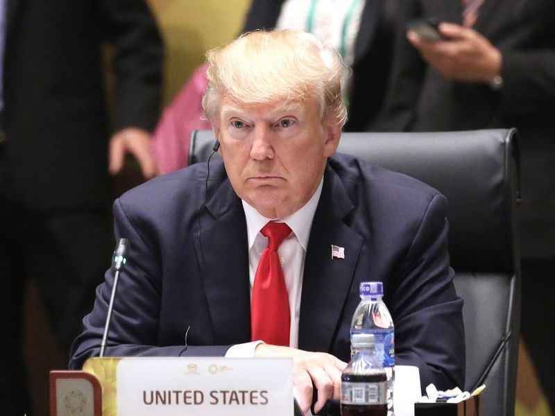 彭博14日報導,美國總統川普指示幕僚,繼續針對約2000億美元中國貨品進行關稅徵收。(中央社檔案照片)