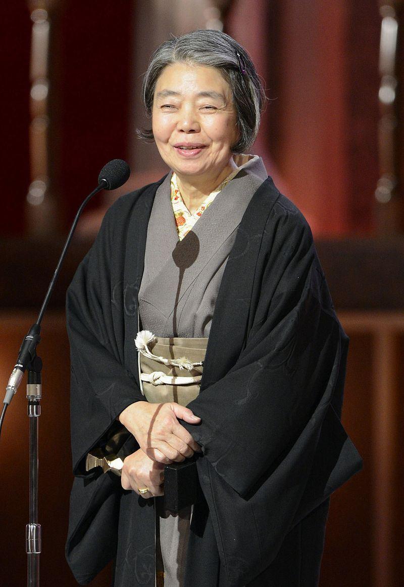 日本資深女演員樹木希林傳出15日因病在家中辭世,享壽75歲。(共同社提供)