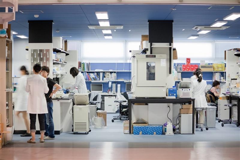 京都大學研究團隊宣布,已將人類iPS細胞製成的神經細胞,移植進帕金森氏症患者腦中,患者術後狀況良好。圖為京都大學iPS細胞研究所。(圖取自www.facebook.com/CiRA.KyotoUniv)