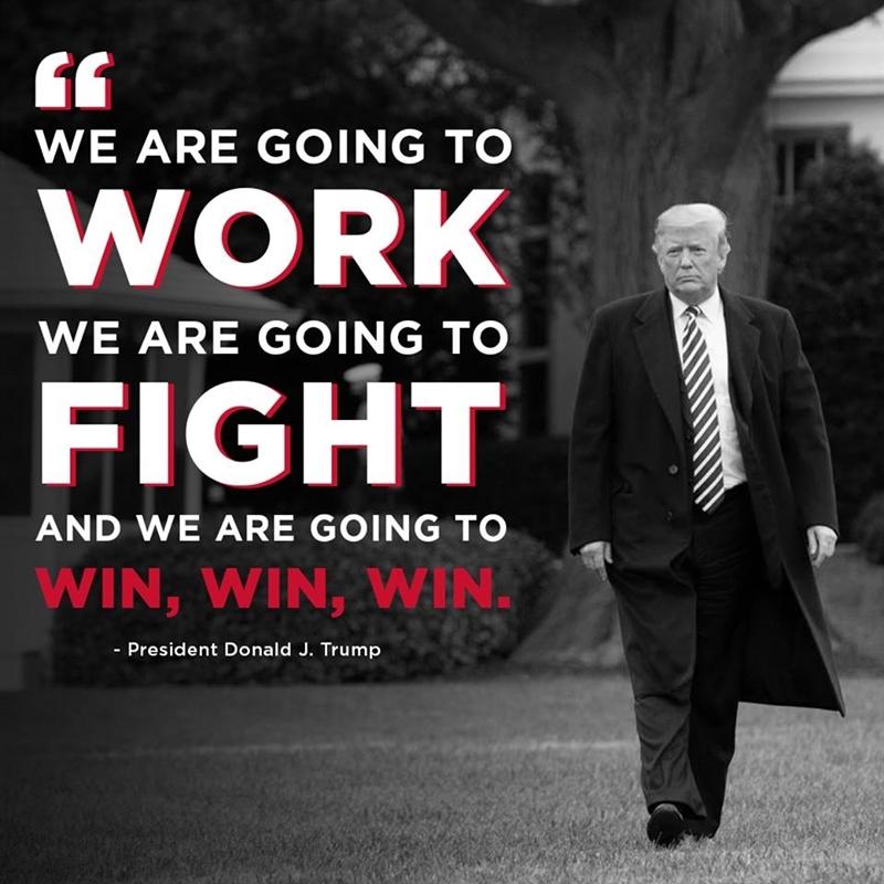 共和黨籍的美國總統川普認為民主黨贏得眾議院主導權是「一大勝利」。(圖取自www.facebook.com/DonaldTrump)