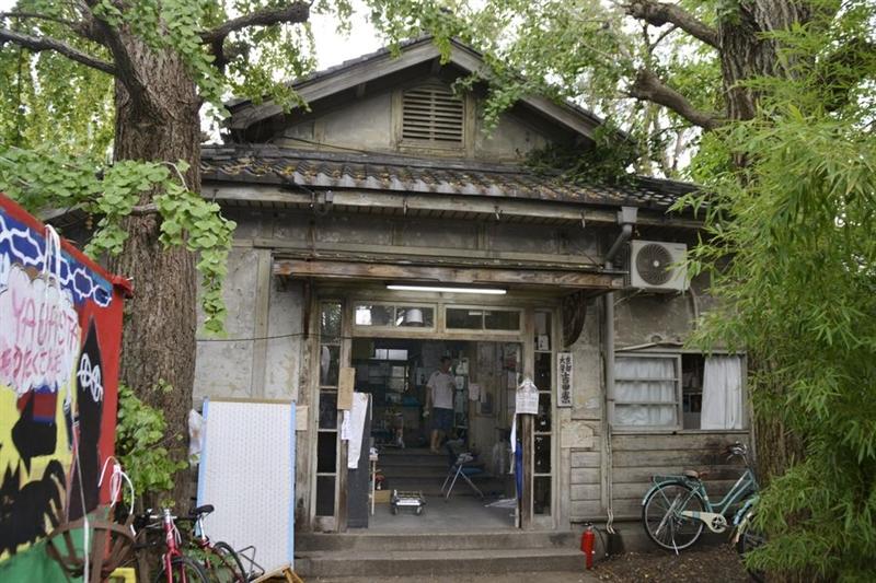 1913年建造的京都大學吉田寮已有105年歷史,是日本現存最古老學生宿舍。(檔案照片/共同社提供)