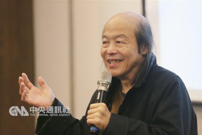 作家林清玄22日清晨因心肌梗塞在家中去世,享壽65歲。(中央社檔案照片)