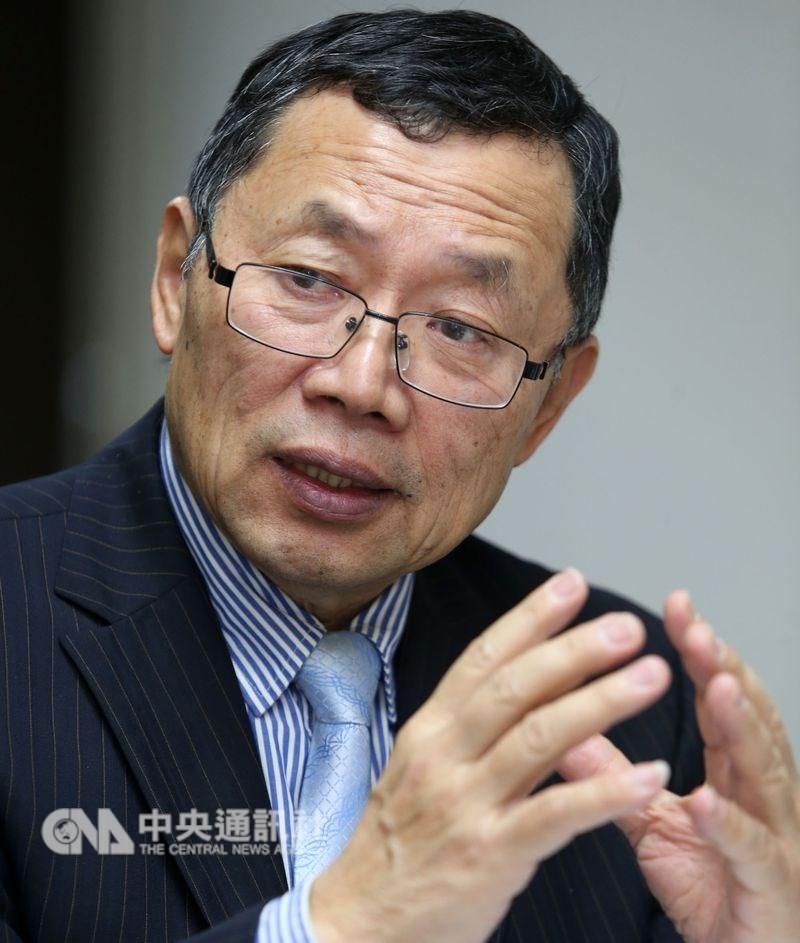 台水董事長郭俊銘被爆蹺班偷情,23日宣布請辭。(中央社檔案照片)