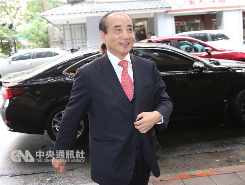 前立法院長、國民黨立委王金平11日更明確表示他一定選總統,時間一到他就會宣布,應該是3月。(中央社檔案照片)