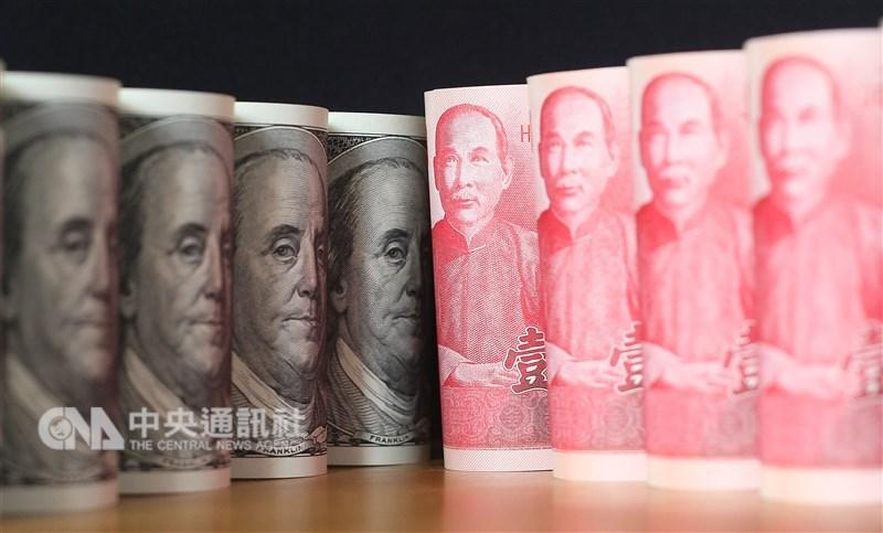 台北外匯市場新台幣兌美元11日收盤收30.809元,貶6.4分。(中央社檔案照片)