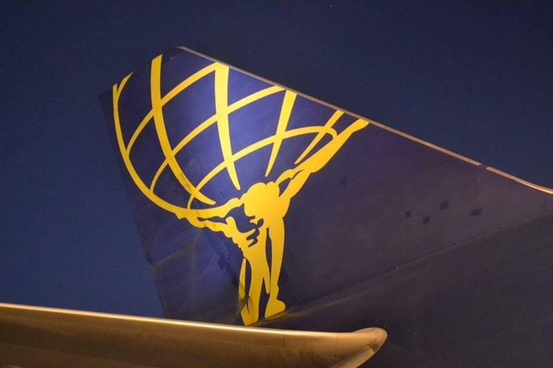 美國貨運航空公司阿特拉斯航空一架波音767噴射貨機23日下午12時45分許墜毀,機上3人全罹難。(圖取自facebook.com/atlasairworldwide)