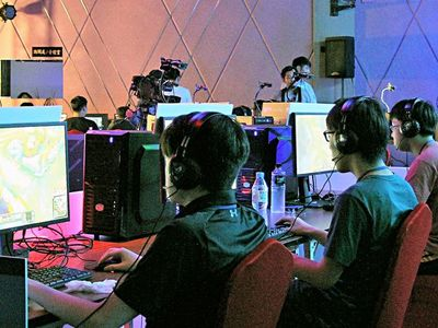 電玩電競產業打世界盃