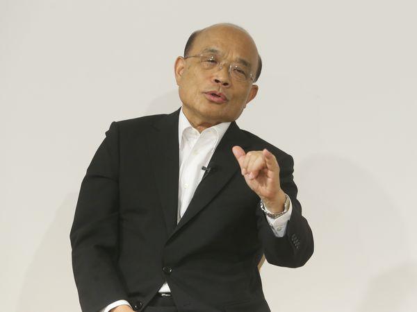 新北市長參選人蘇貞昌專訪