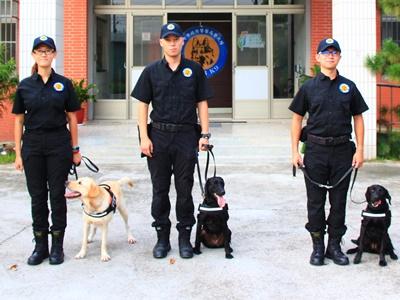 台中花博特種犬部隊