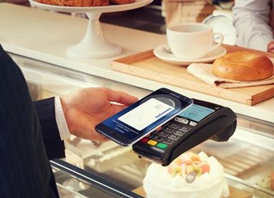 Samsung Pay同時支援NFC與MST,可在南韓90%以上的商店結帳。