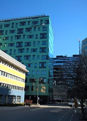 瑞典國營企業大瀑布電力公司在市區的辦公總部。