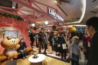 LINE咖啡商店進駐百貨(3)