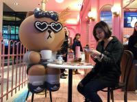 全台首間LINE咖啡店開張 (2)