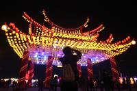 台湾灯会 夜间花灯抢先看(1)