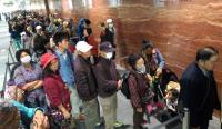 机捷试乘  台北站大排长龙(2)
