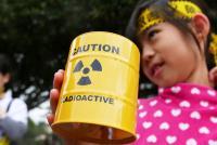 廢核遊行 核廢料存錢筒搶手(1)