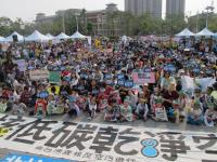 南台灣廢核反空污 民眾響應