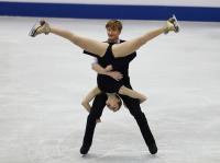 花滑世青賽 俄選手冰舞短曲暫居第3(3)