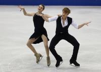 花滑世青賽 俄選手冰舞短曲暫居第3(2)