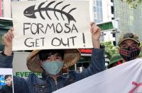 台塑越鋼污染 越民抗議盼賠償還民