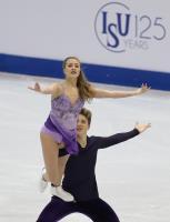 花滑世青賽 美國冰舞組合第3名