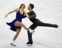 花滑世青賽 美兄妹組合冰舞奪冠