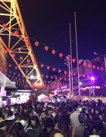 東京鐵塔變身九份 台灣祭活動人山人海