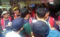 反年金改革抗議 阻擋人員進入立院
