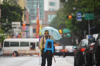反年金改革抗爭碰大雨(2)