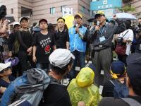 年改聯盟民進黨黨部抗議(1)
