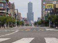 南部萬安演習 街道如空城