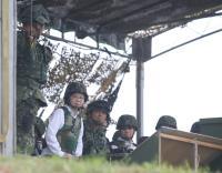 蔡总统:国防自主向世界展保卫国土决心
