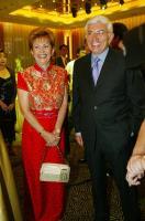 2003年8月 巴拿馬總統莫絲柯索訪台參加副總統呂秀蓮酒會