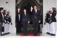 2016年6月 蔡總統與巴拿馬總統會面