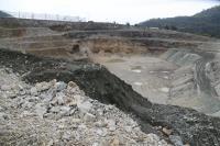亞泥礦場深挖