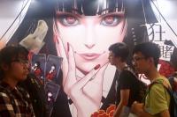 民眾參觀漫畫博覽會