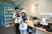 世大運選手村紀念品商店(1)