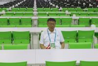 柯文哲參觀台北世大運選手村餐廳