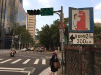 台北市內湖區洲子街紅綠燈停擺
